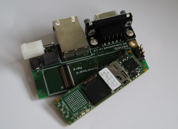 Extension Board with Image Processing Board